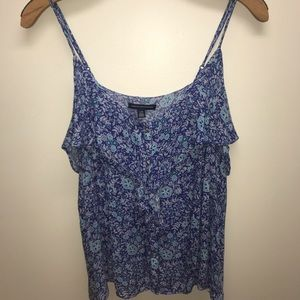 American Eagle Button Down Tank Top